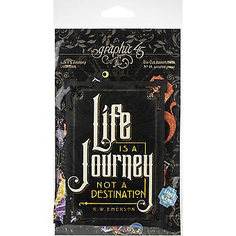 Life's A Journey Cardstock Die - Cut Assortment