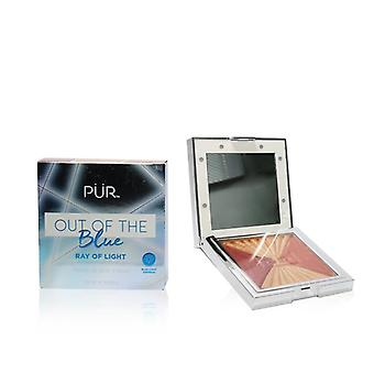 Pur (purminerals) Out Of The Blue Light Up Vanity Blush Palette - # Ray Of Light - 5g/0.18oz