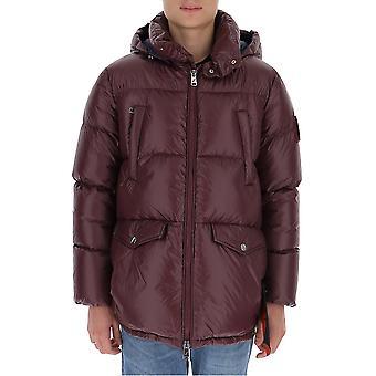 Efter Label Al019690 Men's Purple Polyester Down Jacket