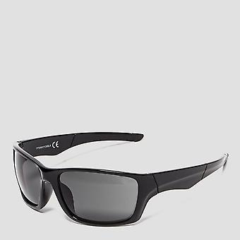 Peter Storm Men's Square Wrap Sunglasses Black