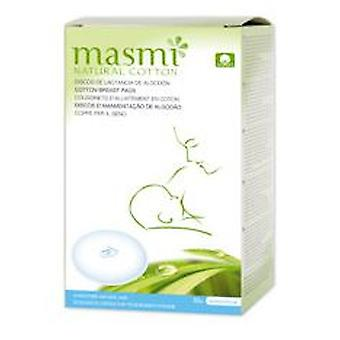 Masmi Breast pads organic cotton 30 Units