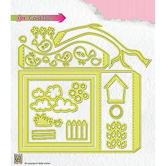 Nellie's Choice Box card die BCD001 105x150mm