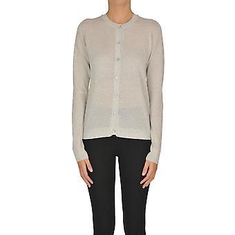 Alyki Ezgl111017 Women's Silver Cotton Cardigan