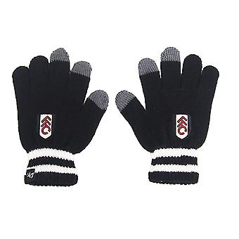 Fulham FC 47 Brand Official Football Gift Boys Youths Touchscreen Knitted Gloves