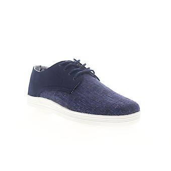 Ben Sherman Preston Miesten Sininen Canvas Low Top Lifestyle Lenkkarit Kengät
