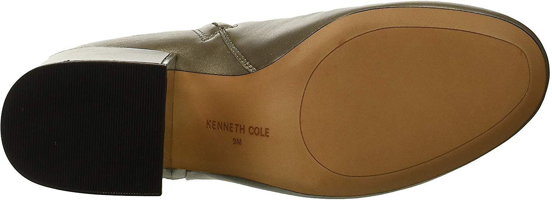 Kenneth Cole New York Frauen's Reeve 2 Block Heel Bootie Stiefeletten, grau, 8 M...