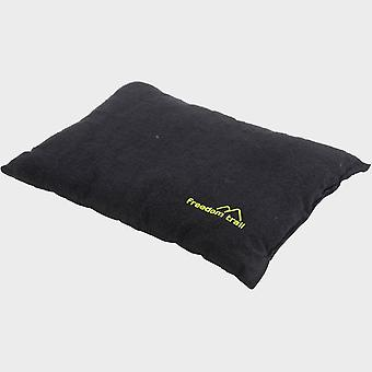 Nieuwe Freedom Trail Flannel Pillow Black