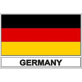 Stick sticker flag D Germany