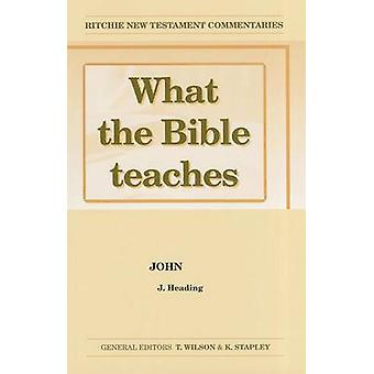 Wtbt Vol 6 NT John by J Heading - John Heading - 9781904064435 Book