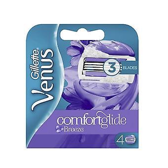 Gillette Venus Breeze Blades 4er Pack