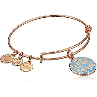 Alex y Ani Color Infusion Words are Powerful Wild n Free Bracelet Expandable