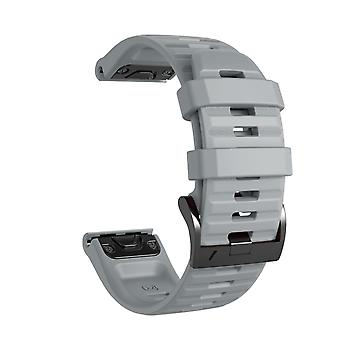 Bracelet for Phoenix 5/6, Forerunner 945, Quatix 5 et al. - Grey
