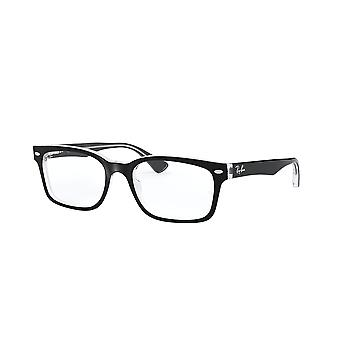 Ray-Ban RB5286 2034 Top Black On Transparent Glasses