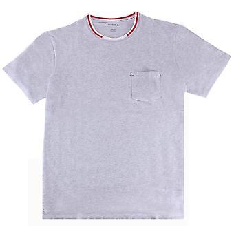 Lacoste Tasche T-Shirt - hellgrau
