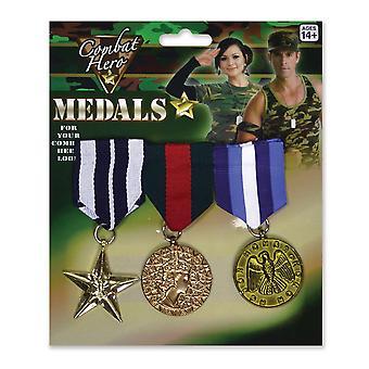 بريستول الجدة وهمية الميداليات العسكرية (حزمة من 3)