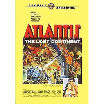 Atlântida, o continente perdido [DVD] EUA importar