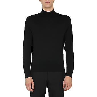 Tom Ford Bvm94tfk122k09 Men's Black Wool Sweater