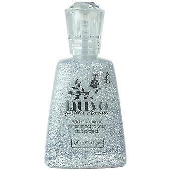 Nuvo Glitter Accents 1.7oz-Silver Jubilee