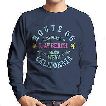 Route 66 LA Beach Wear Men's Sweatshirt