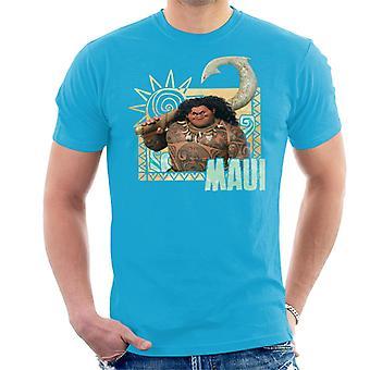 Disney Moana Maui solnedgang mænd ' s T-shirt