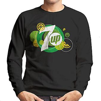 7UP Popfizz Lemon Logo Men's Sweatshirt