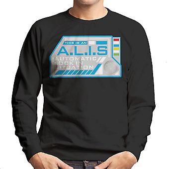 The Crystal Maze ALIS Auto Lock Men's Sweatshirt