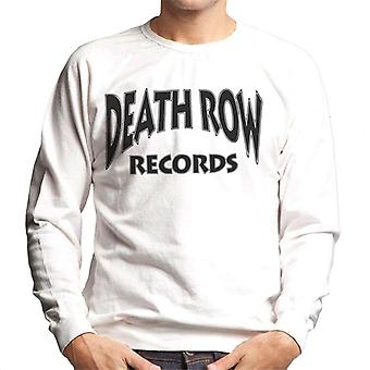 Death Row Recrods Logo Black mannen Sweatshirt