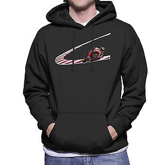 Motorsport Images Jorge Lorenzo Low Turn Men-apos;s Sweatshirt à capuchon