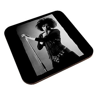 Souxsie Sioux Live Black And White Coaster
