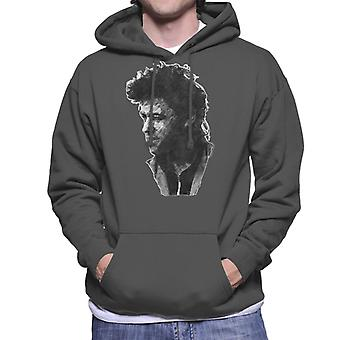 TV keer Pop zanger Bob Geldof 1986 mannen Hooded Sweatshirt