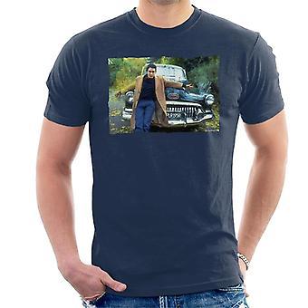 TV Times Jools Holland By A Classic Car Men's T-Shirt