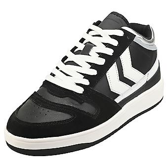 hummel Minneapolis Mens Casual Trainers in Black White