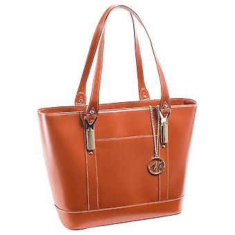 97714, Leather Ladies' Tote With Tablet Pocket