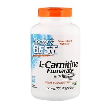Doctor's Best, L-Carnitine Fumarate with Biosint Carnitines, 855 mg, 180 Veggie