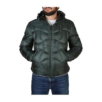 Blue - Clothing - Jackets - 19WBLUC03049-004938_667 - Men - seagreen - M