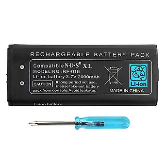 2000mah Rechargeable Lithium-ion Battery + Tool Kit For Nintendo Ill/xl