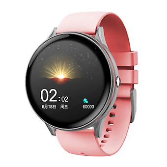 Lige Red Line Smartwatch Smartband Smartphone Fitness Sport Activity Tracker Watch IPS iOS Android iPhone Samsung Huawei Pink