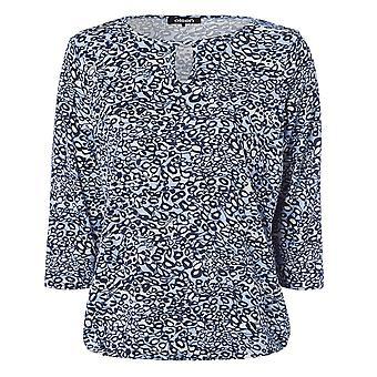 OLSEN Olsen Rokerig Blauw T-shirt 11100332