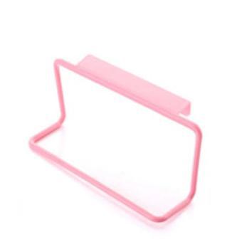 1pcs Plastic Opknoping Houder voor handdoek rack multifunctionele kast