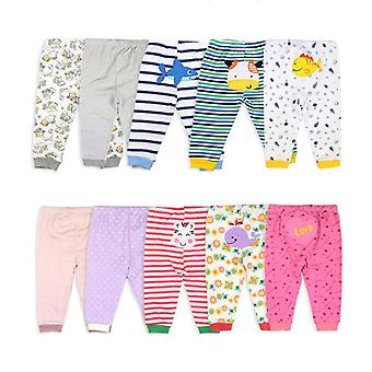 Cartoon Print Baby Pants Cotton Leggings Spring Autumn Toddler Pants Newborn
