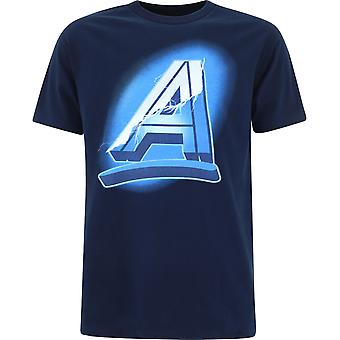 Alltimers P704456 Men's Blue Cotton T-shirt