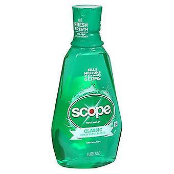 Scope Classic Mundwasser Original Minze, 33,33 Oz