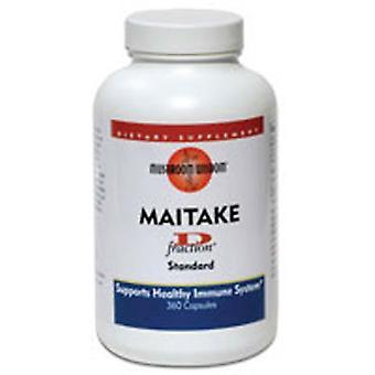Maitake Mushroom Wisdom Maitake D-Fraction Standard, D-FRACTION, 360 CAP