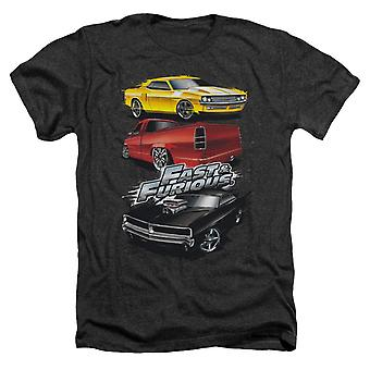 Fast And The Furious Muscle Car Splatter T-shirt