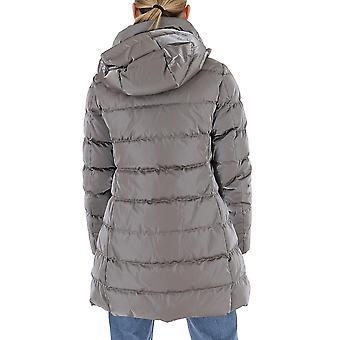 Aggiungi 2awc12s2310 Women's Grey Nylon Down Jacket