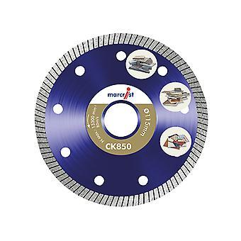 Marcrist CK850 Extreme Speed Diamond Blade Fast Tile 115 x 22.2mm MRCC850115