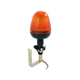 Neilsen 60 smd amber beacon tractor warning light with mounting bracket 12w