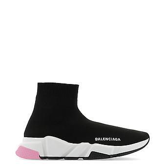 Balenciaga 587280w17031070 Damen's Schwarz Nylon Hi Top Sneakers
