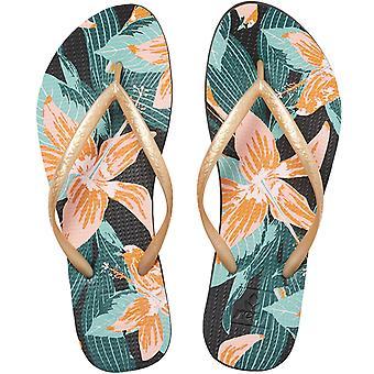 Reef Womens Escape Basic Prints Summer Flip Flop Thongs Sandals - Hibiscus
