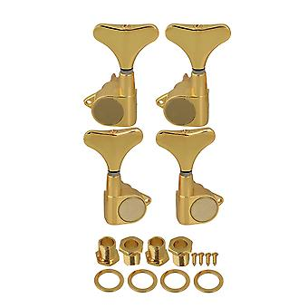 Gold Sealed Electric Bass  Tuning Pegs Machine Heads 2R2L